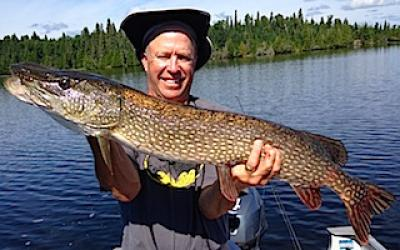 Magnificent Trophy Northern Pike Fishing at Fireside Lodge in Canada