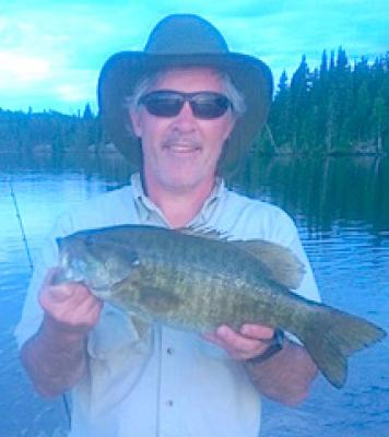 Easy Trophy Smallmouth Bass Fishing at Fireside Lodge in Canada