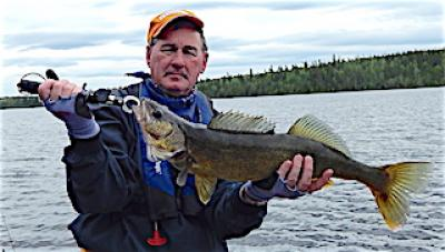 Giant Trophy Walleye Fishing at Fireside Lodge in Canada