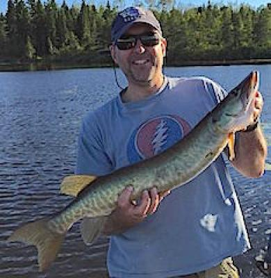 Many Sizable Muskie Fishing at Fireside Lodge in Canada