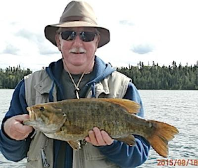 Amazing Trophy Smallmouth Bass Fishing at Fireside Lodge in Canada