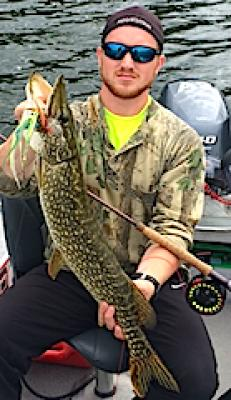 Biggest Northern Pike Fly Fishing at Fireside Lodge in Canada