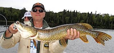 BIG Fall Northern Pike Fishing at Fireside Lodge in Canada