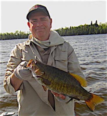 Trophy Pre-Spawn Smallmouth Bass at Fireside Lodge in Canada