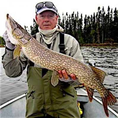 Fantastic May Northern Pike Fishing at Fireside Lodge in Canada