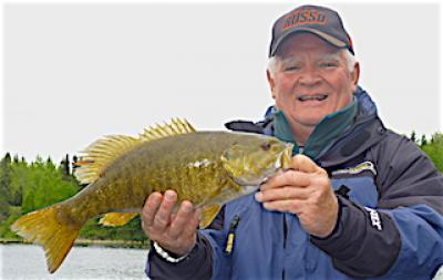 Spectacular Trophy Smallmouth Bass Fishing at Fireside Lodge in Canada