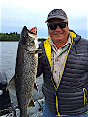 Exciting Lake Trout Fishing at Fireside Lodge in Canada