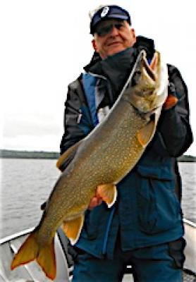 Humongous Trophy Lake Trout Fishing at Fireside Lodge in Canada