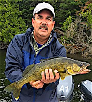 Heck of a Walleye Fishing at Fireside Lodge in Canada