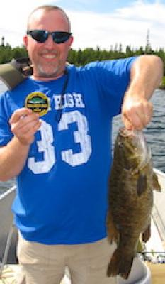 Master Angler Trophy Smallmouth Bass Fishing at Fireside Lodge in Canada