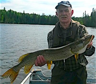 GREAT BIG Northern Pike Fishing at Fireside Lodge in Canada