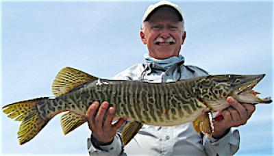 Tiger Muskie Fishing at Fireside Lodge in Canada
