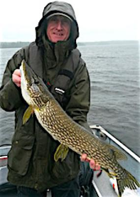BIG British Northern Pike Fishing at Fireside Lodge in Canada