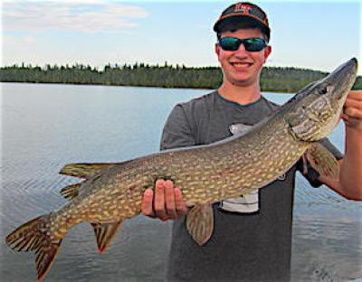 HUGE Northern Pike Fishing Lures at Fireside Lodge in Canada