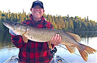 BIG Belly Northern Pike Fishing at Fireside Lodge in Canada