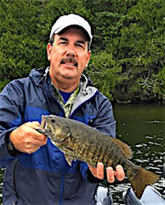 Dozens Of Big Smallmouth Bass Fishing at Fireside Lodge in Canada