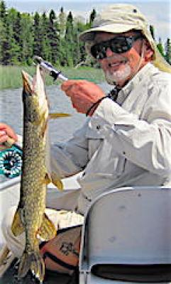 Fly Fishing For Pike are Special at Fireside Lodge in Canada