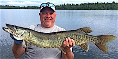 Love Muskie Fishing at Fireside Lodge in CAnada