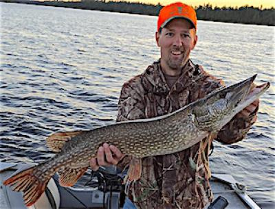 Mid Summer BIG Northern Pike Fishing at Fireside Lodge in Canada