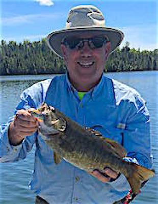 Excellent Trophy Smallmouth Bass Fishing at Fireside Lodge in Canada