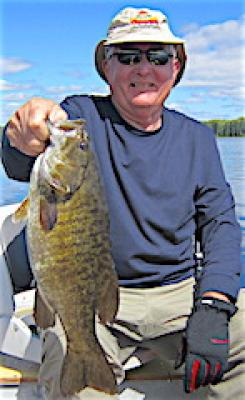 Mega Trophy Smallmouth Bass Fishing at Fireside Lodge in Canada