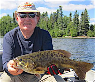 Extra BIG Trophy Smallmouth Bass Fishing at Fireside Lodge in Canada