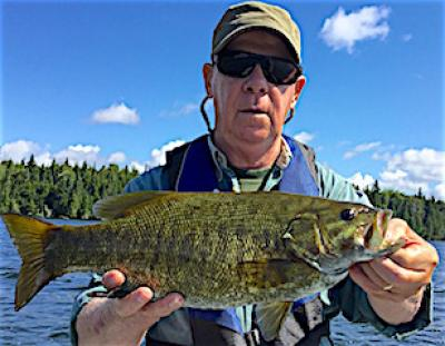 HUGE FAT Trophy Smallmouth Bass Fishing at Fireside Lodge in Canada