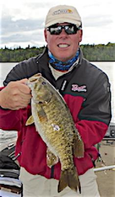 Best Trophy Smallmouth Bass Fishing at Fireside Lodge in Canada