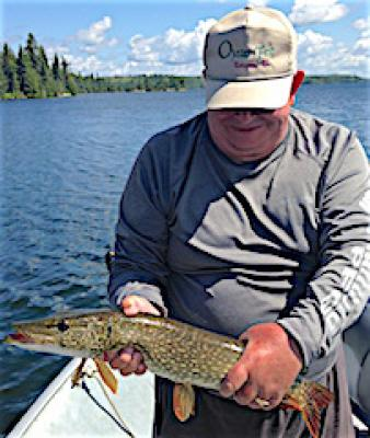 Big Numbers Northern Pike Fishing at Fireside Lodge in Canada