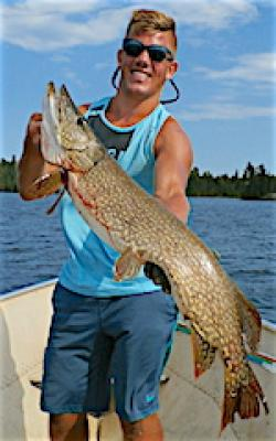 HUGE Summer Northern Pike Fishing at Fireside Lodge in Canada