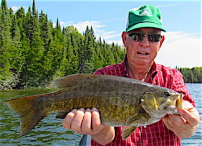 WOW Trophy Smallmouth Bass Fishing at Fireside Lodge in Canada