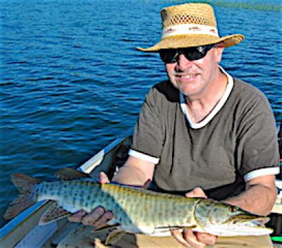 Muskie Fun with My Son Fishing at Fireside Lodge in Canada