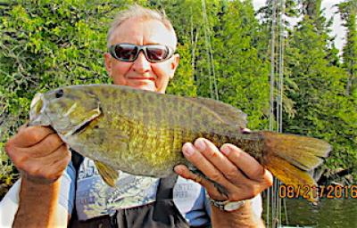 Unique Trophy Smallmouth Bass Fishing at Fireside Lodge in Canada