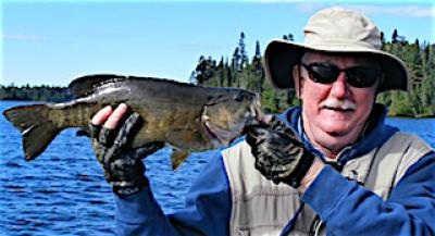 Abundent Trophy Smallmouth Bass Fishing at Fireside Lodge in Canada