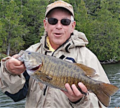 Traditional BIG Smallmouth Bass Trip Fishing at Fireside Lodge in Canada