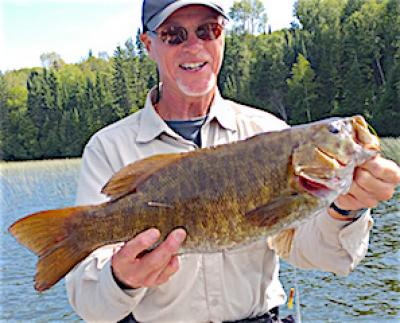 Impressive Trophy Smallmouth Bass Fishing at Fireside Lodge in Canada