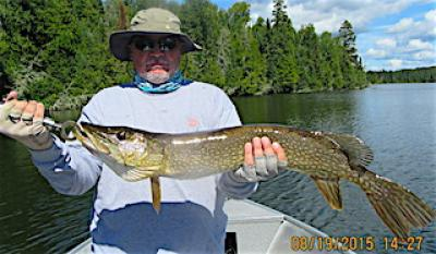 Huge Summer Success for BIG Pike Fishing at Fireside Lodge in Canada