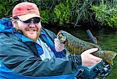 Nothing Like Trophy Smallmouth Bass Fishing at Firesde Lodge in Canada