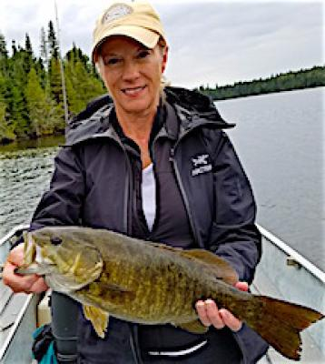 Stellar Trophy Smallmouth Bass Fishing at Fireside Lodge in Canada