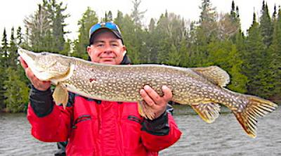 Trophy May Northern Pike Fishing at Fireside Lodge in Canada