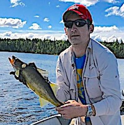 Nice Walleye Fishing at Fireside Lodge in Canada