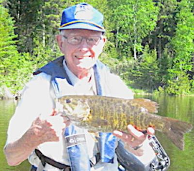Trophy Smallmouth Bass Fishing at 93 in Canada