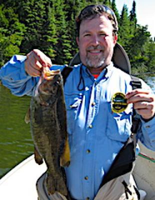Master Anglers Trophy Smallmouth Bass Fishing at Fireside Lodge in Canada