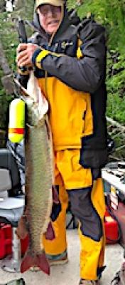 HUGE Trophy Muskie Fishing at Fireside Lodge in Canada