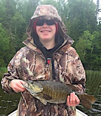 Grandpa Lloyd Finds Giant Trophy Smallmouth Bass Fishing at Fireside Lodge in Canada