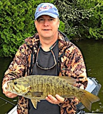 World Class Trophy Smallmouth Bass Fishing at Fireside Lodge in Canada