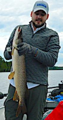 Personal Best Northern Pike Fishing at Fireside Lodge in Canada