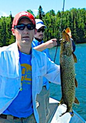Great Pike Fishing With Famliy & Friends at Fireside Lodge in Canada