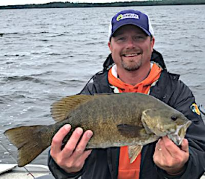 Beast Trophy Smallmouth Bass Fishing at Fireside Lodge in Canada