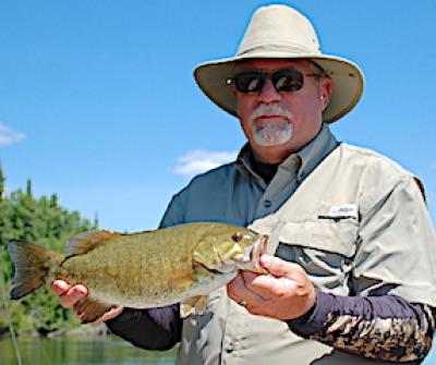 Second Trophy Smallmouth Bass Fishing at Fireside Lodge in Canada